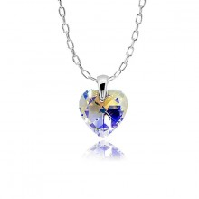 PENDANT ASTER CRISTAL