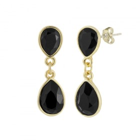 EARRINGS HANNA NEGRO